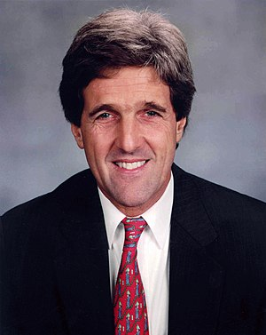 An earlier Senate portrait of Kerry