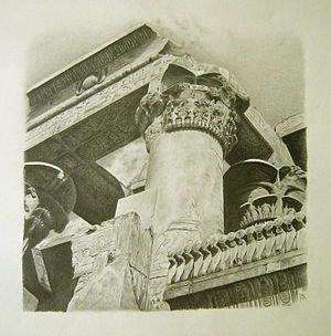 Vue du temple de Kom-ombo