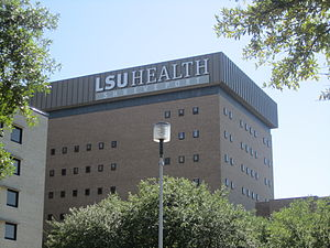 English: I took photo of LSU Health Sciences C...