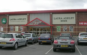 English: Laura Ashley - Westgate Retail Park