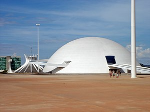 Brazil's National Museum, Architect: Oscar Nie...