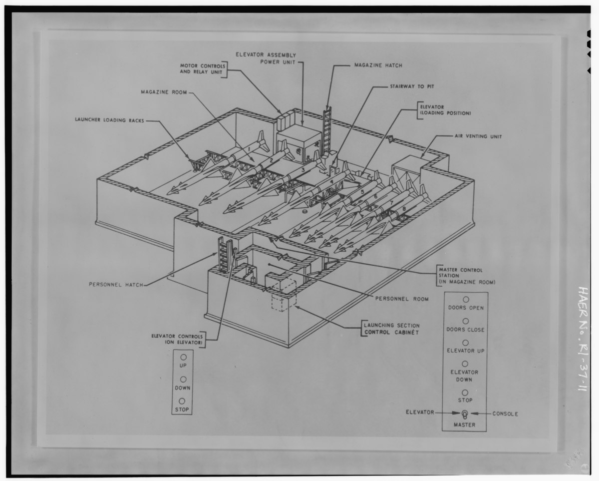 File:Photocopy of drawing of underground missile storage