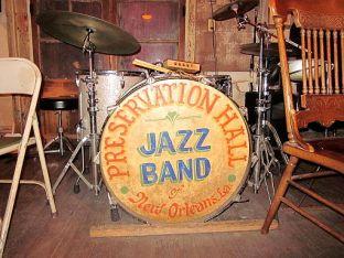 Preservation Hall Bass Drum