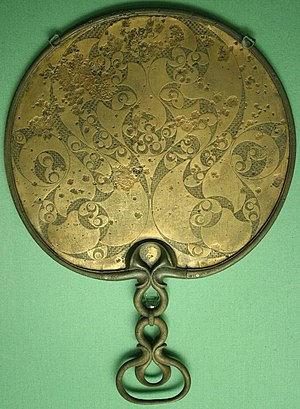 A 1st century BCE mirror found in Desborough, ...