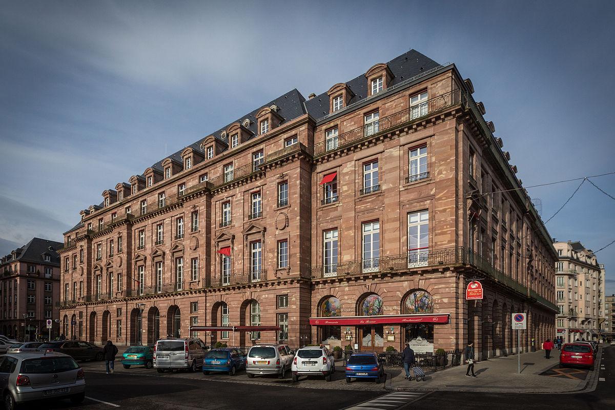 Quartier de la Bourse Strasbourg  Wikipdia