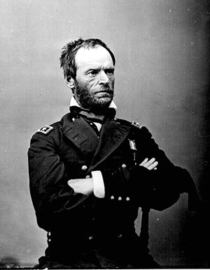 English: General William Tecumseh Sherman, a g...