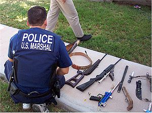 U.S. Marshal Multi-Agency Team Member with Sei...