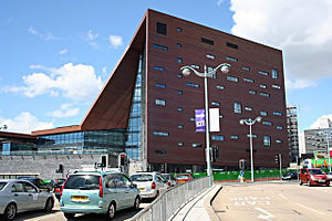 University of Plymouth Arts Block