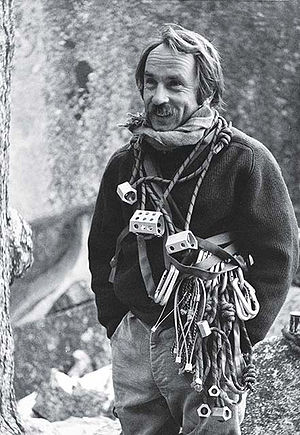 English: A photo of rock climber Yvon Chouinard
