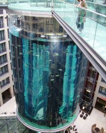 Elevator Aquarium Berlin Germany