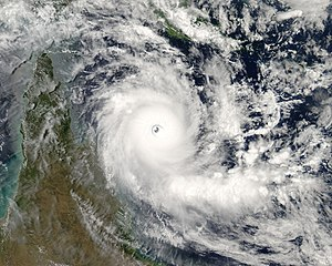 Image of Severe Tropical Cyclone Ingrid (22P) ...