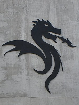 Photo of the Dragão stadium symbol.