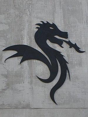Photo of the Dragão stadium symbol.