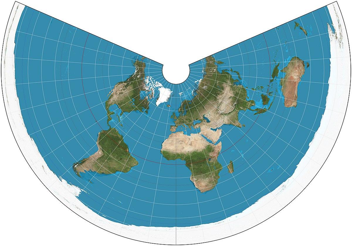 Blog de Sociales para el alumnado de 1º y 2º ESO: Tema 2(1º). Texto sobre las proyecciones cartográficas