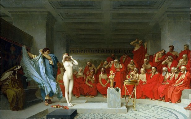 """Phryne before the Areopagus"" by Jean-Léon Gérôme"