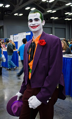 English: San Diego Comic Con 2010 Joker Cosplay