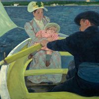 """The Boating Party"" by Mary Cassatt"