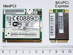 Mini PCI Express Card aka Mini Card