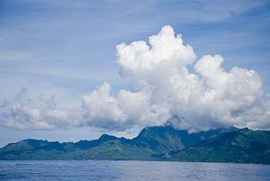 Ocean view of Mo'orea
