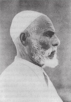 Omar Mukhtar (1858–1931) was the leader of the...