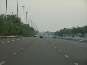 On rout to Abu Dhabi from Dubai on Sheikh Zaye...