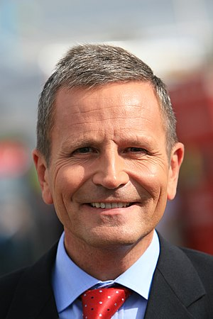 Peter Levy, British television and radio prese...