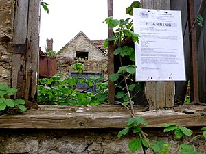 English: Planning Application, Alvington Plann...