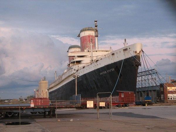 SS United States Philadelphia