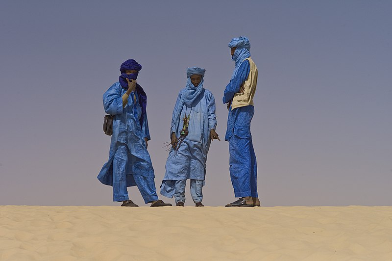 File:Touaregs at the Festival au Desert near Timbuktu, Mali 2012.jpg