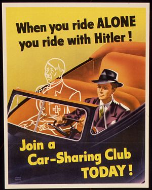 """WHEN YOU RIDE ALONE YOU RIDE WITH HITLER..."