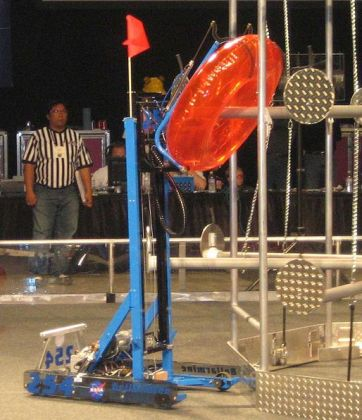 first robot competition