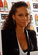 English: Alicia Keys in South Africa for the F...