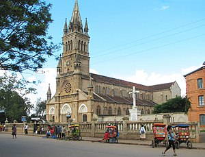 Antsirabe cathedral, Madagascar