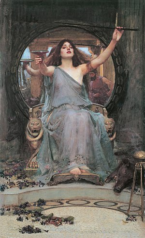 Circe Offering the Cup to Odysseus. Oldham Art...