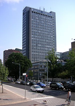 The DN building (aka DN-skrapan in Swedish) in...