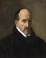 Culteranismo: Luis de Góngora, óleo de Diego Velázquez.