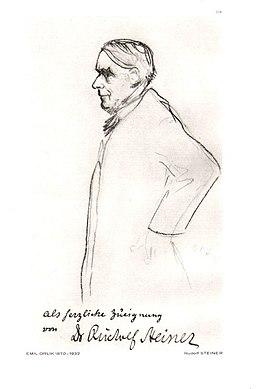 Dr. Rudolf Steiner, by Emil Orlik, Eurythmy