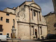 Eglise Aniane GR653 Via Tolosana