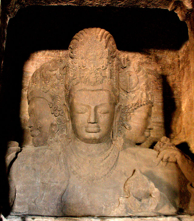 Three Headed Shiva at Elephanta Caves.Image.jpg