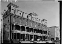 File February 1963 West Elevation - Union Hotel 76 Main