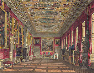 The King's Gallery at Kensington Palace from T...