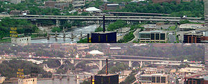 I-35W Mississippi River bridge in Minneapolis,...