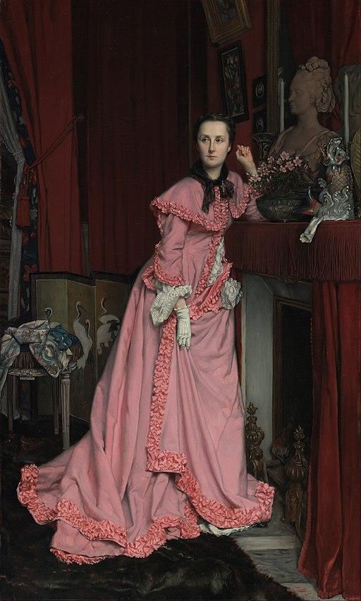 """""""Portrait of Marquise de Miramon"""" by James Tissot"""