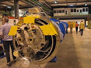 End of an LHC dipole