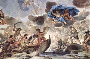 Fresco in the Palazzo Medici-Riccardi, depicti...