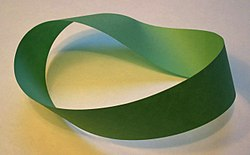A Möbius strip