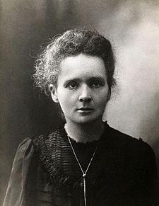 صورة لماري كوري يرجع تاريخها إلى ما قبل سنة 1907.