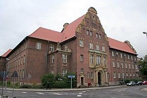 Deutsch: Amtsgericht in Moers, NRW.
