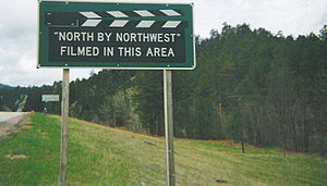 English: Sign near Mt. Rushmore, South Dakota,...