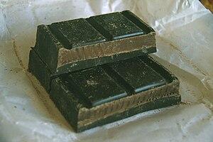 Onzas de chocolate